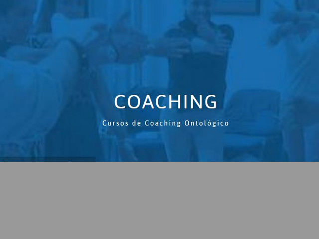 carrera de coaching